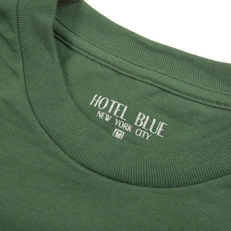 HOTEL BLUE  LOGO TEE ホテルブルー  GREEN  HB22