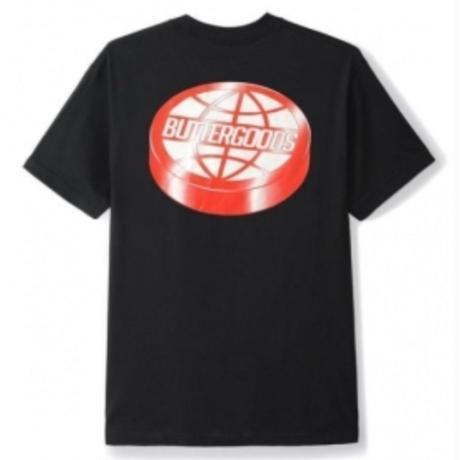 BUTTER GOODS Disk Logo Tee, Black BG16