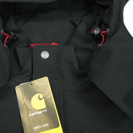 carhartt Shoreline Waterproof Breathable Jacket J162 カーハート マウンテンパーカー メンズ アウター CHT41 BLACK