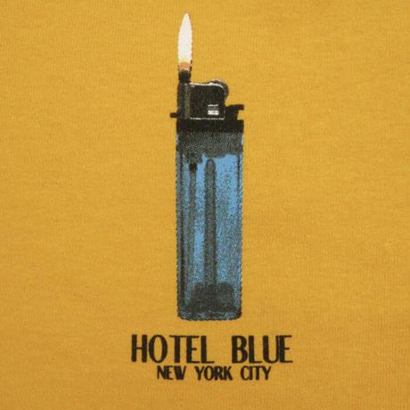 HOTEL BLUEL Lighter Tee HB Gold HB31 ホテルブルー