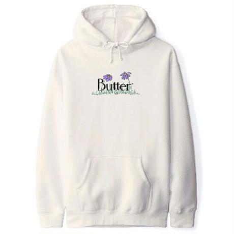 BUTTER GOODS Flowers Classic Logo Pullover バターグッズ パーカー メンズ トップス プルオーバーフード  BG47 BONE