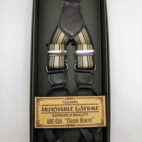 [Adjustable Costume]クラシックブレイシーズ(サスペンダー) Classic Braces ABC-024