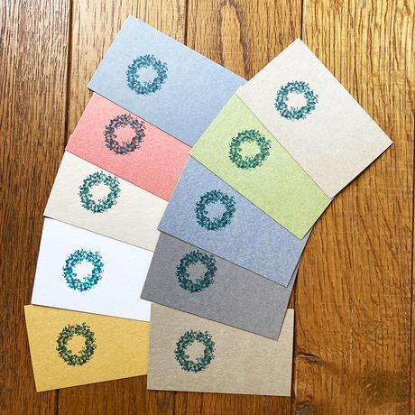 カード 10枚同柄セット 「リース」