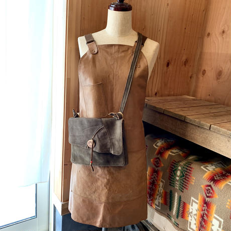 DEER LEATHER JUNK SACOCHE 鹿革サコッシュ#2
