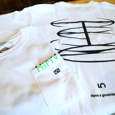 Cylinder Logo Pocket T-shirts (10oz super heavyweight)