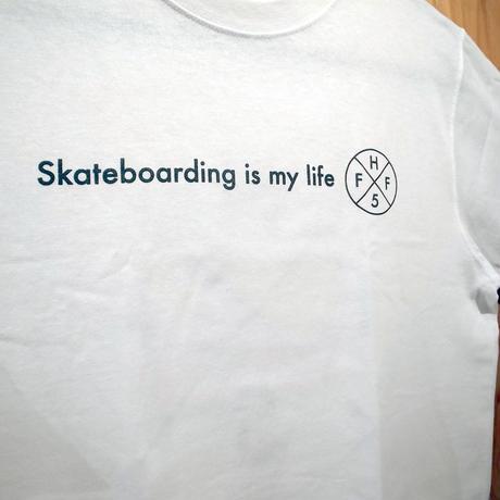 HiFIVE x FIFTY FIFTY Skateboard is my life TEE
