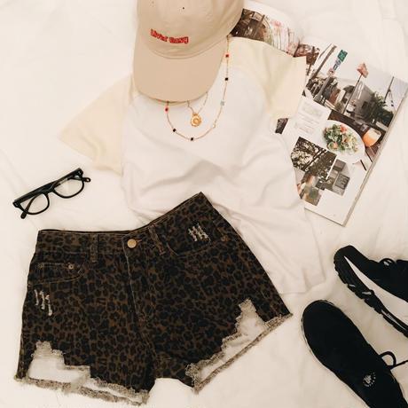 Vintage Leopard  Short PT