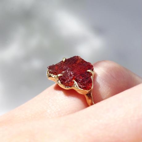 moss ring スペサルティンガーネット