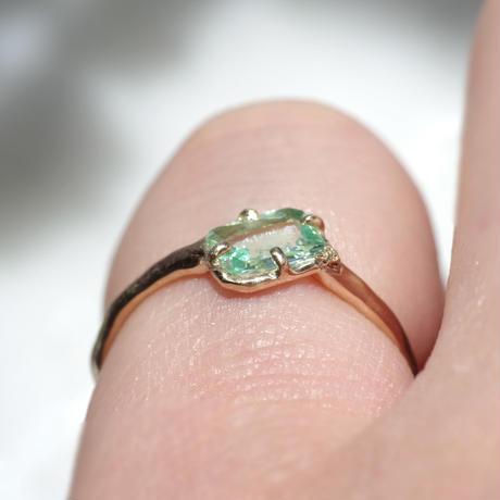 moss ring パライバトルマリン