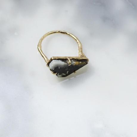 moss ring ネイティブゴールド