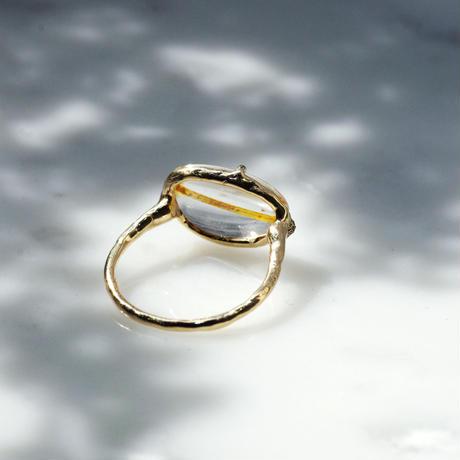 moss ring リモナイトイントパーズ