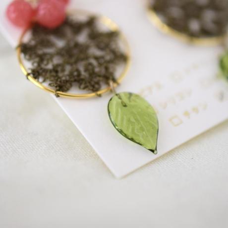 Christmas コフレ(minori) ピアスorイヤリング/ブローチセット