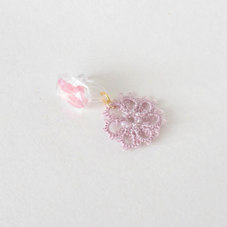 fresh flower(ラベンダー)ピアス/イヤリング