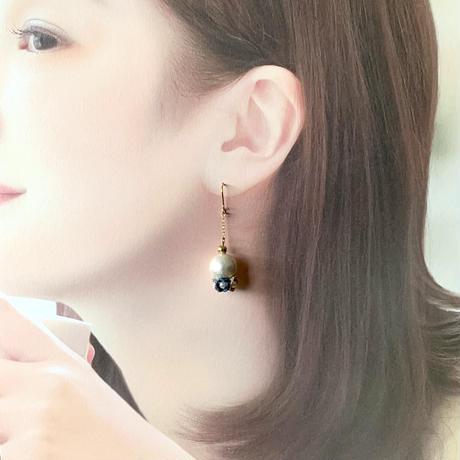 Perfume 〜香水〜(コットンパール)ピアス/イヤリング