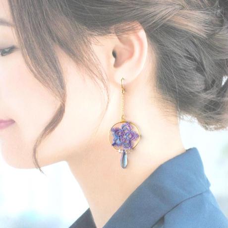 shooting star2020(purple)ピアス/イヤリング