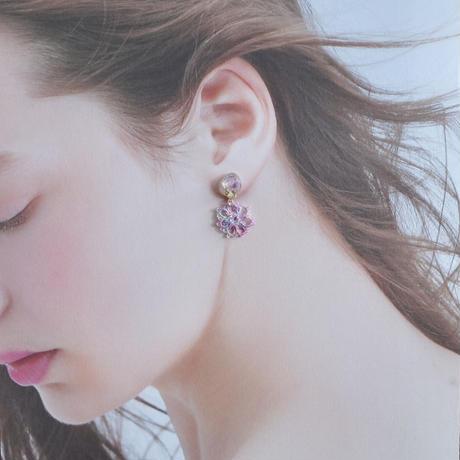 【春だけの季節限定】桜しずく ピアス/イヤリング