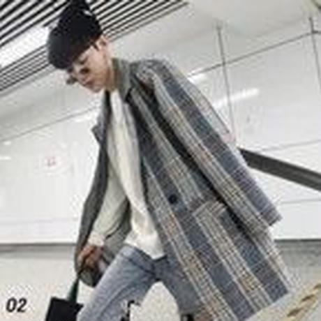 韓国系 オーバーサイズ コート