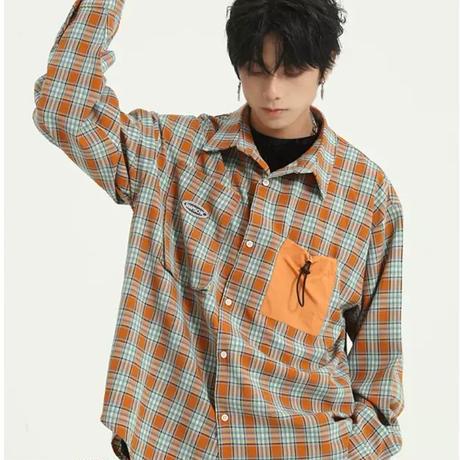 Design check shirt