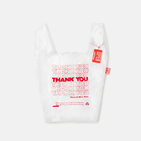 OPEN EDITIONS/THANK YOU TOTE (RED)