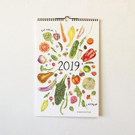 Maria Schoettler/2019 Seasonal Produce Calendar