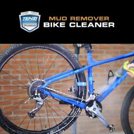 テンジ [マルチ泥・汚れ落とし バイククリーナー] : 自転車、二輪・四輪、農機具にも使える強力泥落としスプレー|TENZI Detailer AD-122