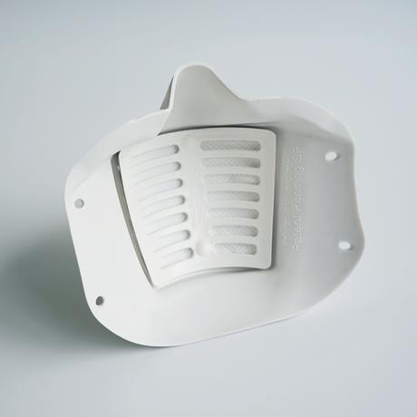 【送料無料・医療関係優先】カット率99.6%※を実現した高性能マスク FENICE(フェニーシェ)|8回洗える交換フィルター1枚セット
