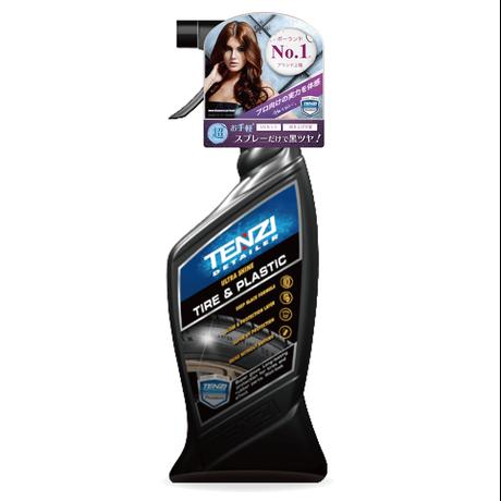 テンジ [タイヤ・プラスチック艶出しスプレー 600ml] : 拭き取り不要のクイック仕上げ。長期間タイヤを保護し黒ツヤを維持|TENZI Detailer AD-25