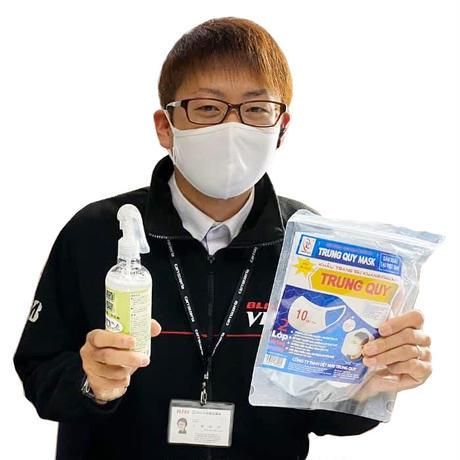 夏に最適!洗濯機でも洗える布マスク「スーパーフィットNANO」2枚入りお試しセット [二層構造 抗菌 低刺激 ソフトストラップ]