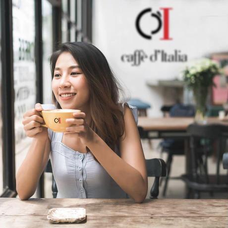【お試しキャンペーン中】カフェデイタリア コーヒーメーカーCHIKKO イタリア本場のエスプレッソマシン [カプセルタイプ/湯量選択ボタン/コンパクト]