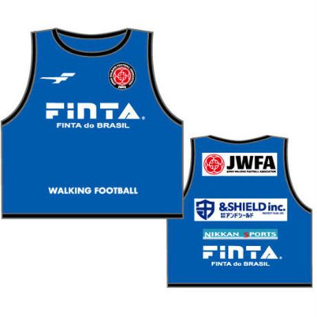 【納期約4週間】日本ウォーキングサッカー協会オフィシャルビブス