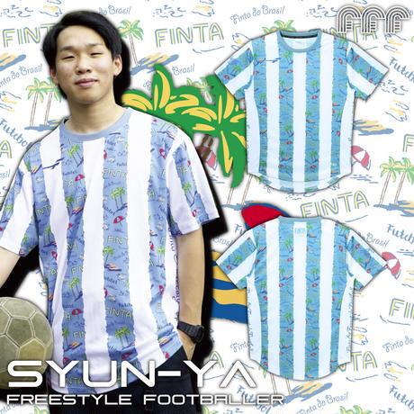 【21SS】FFF昇華プラクティスシャツ(FT8511)【SYUN-YA】
