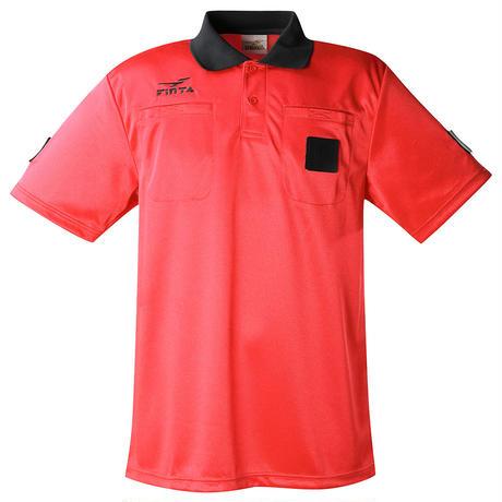 カラー半袖レフリー4点セット(FT5197)