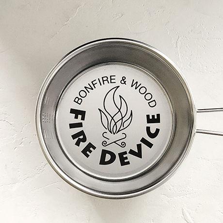 FireDeviceロゴ入りシェラカップ(寸胴型)