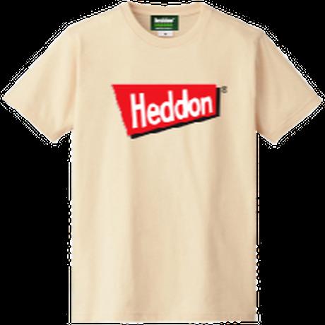 ヘドンファン待望の、ヘドン社のオフィシャルアイテム。完全限定!売切れ御免!【ヘドンTシャツ 2019年度版】サイズ M ナチュラル