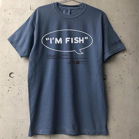 I'M FISH tee(Blue Jean)