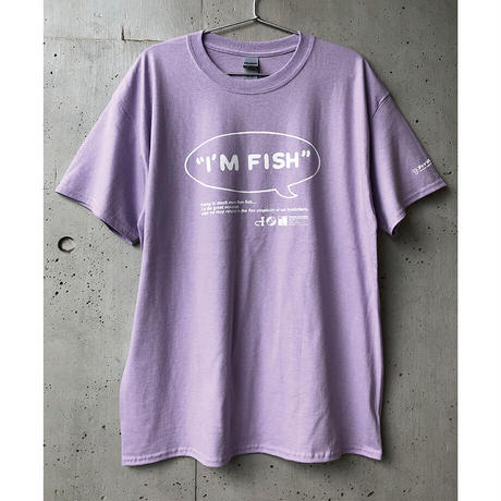 I'M FISH tee-30th LIMITED!(Orchid)