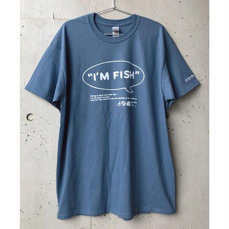 I'M FISH tee-30th LIMITED!(Indigo Blue)