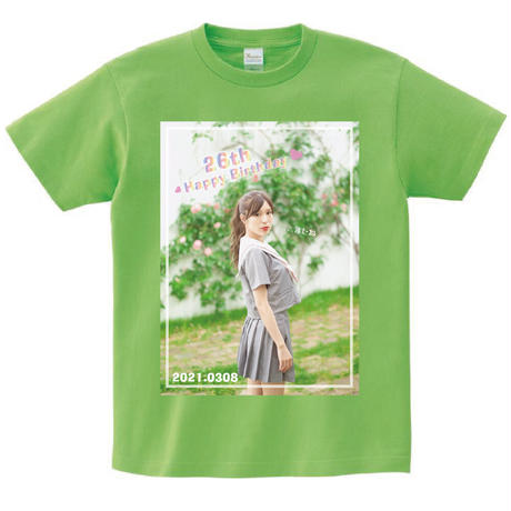 【完全受注生産】小嶋菜月26th Birthday Tシャツ
