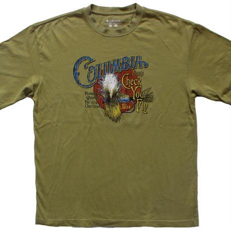 古着 Columbia 毛鉤 Tシャツ M