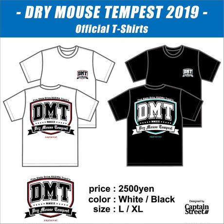 Dry Mouse Tempest 2019 Official S/S Tee