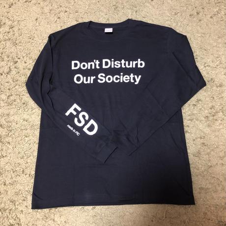 """DDoS"" L/S Tee"