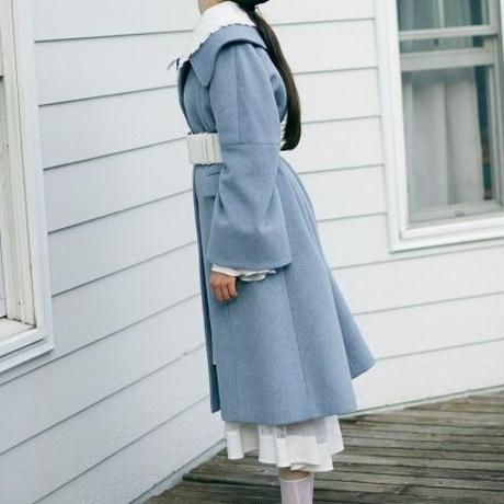 ビッグカラーウールコート