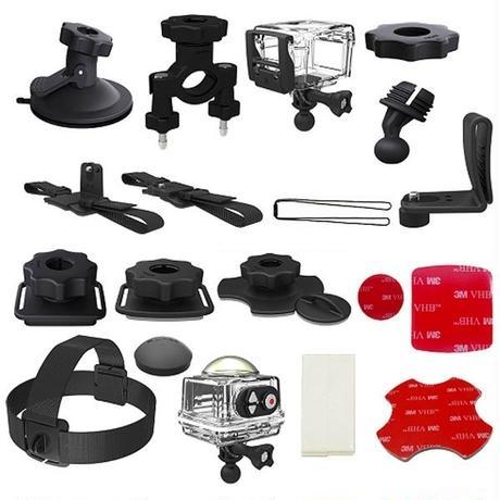 コダック アクションカメラアクセサリーセット SP360