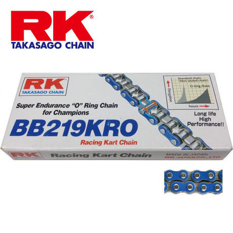 "RK(takasago chain) ""O""ring BLUE 219"