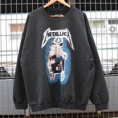 """スリフティールック (thrifty look) crew sweat """" Metallica """" / スウェット 18F003UD -"""