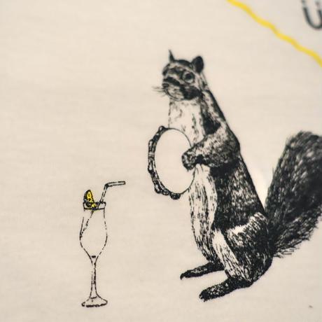 flau cocktail & risu t-shirt