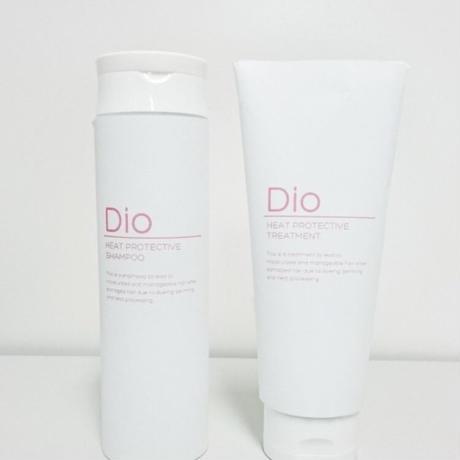 Dio Heat Protective  Shampoo & Treatment  V2  3 セット (送料無料!!)