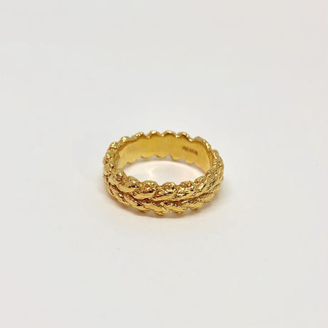 lace laurel ring (gold)---112