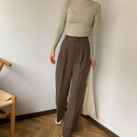 suede touch slacks pants (3color)[BT20AW489]