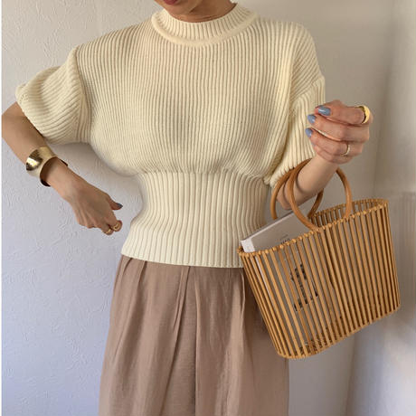 west rib summer knit (2color)[TOP20SS366]